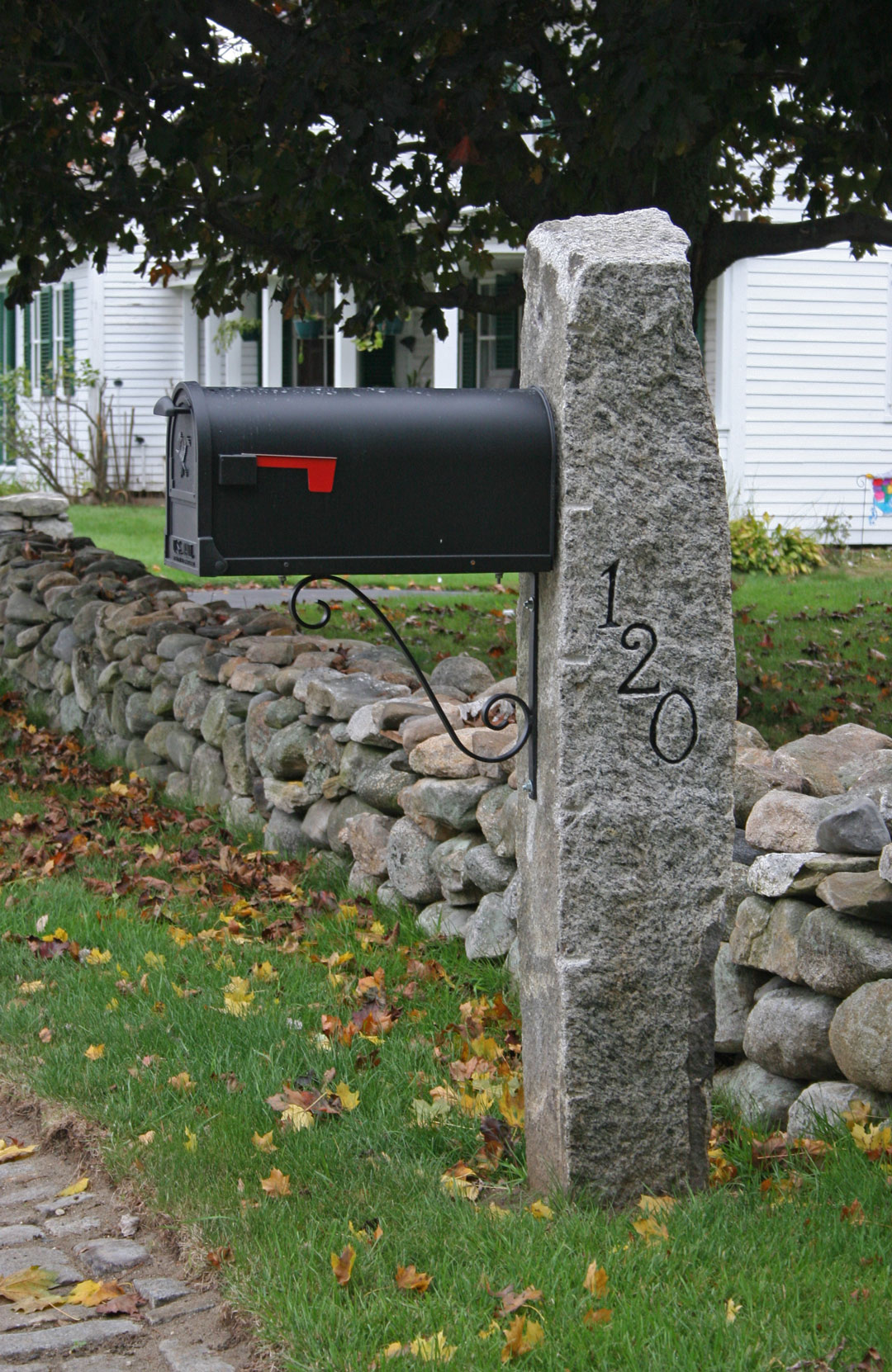 Mailbox Posts Cosmic Stone And Garden